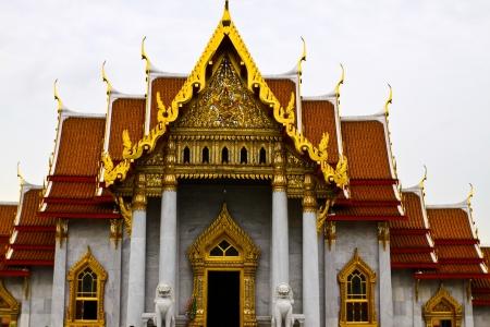 Wat benjamabhopit temple,bangkok,thai land  Stock Photo