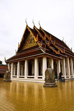 Wat srakhet temple,bangkok thailand