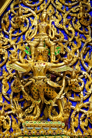 Temple decorations  sculpture of God  , Thailand Stock Photo - 19245140