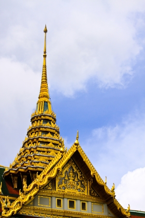 Roof of Grand Palace, Bangkok, Thailand Stock Photo - 19245102