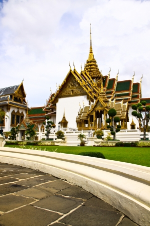 Grand palace in bangkok, thailand  photo