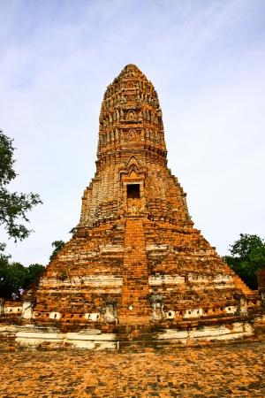 Thailand - ancient temple at Ayutthaya province
