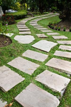Paths through the park