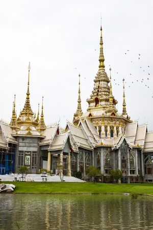 Ancient temple and monument in Thailand