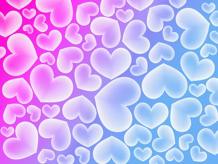 Abstract colorfull background with heart   Stock Photo