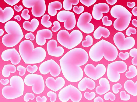 Abstract colorfull background with heart