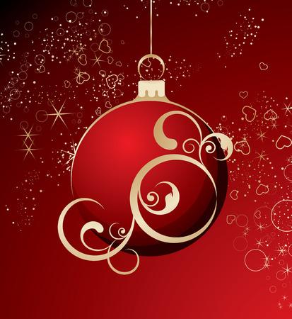 Christmas abstract theme.