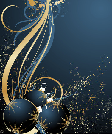 Christmas abstract theme.  Vector