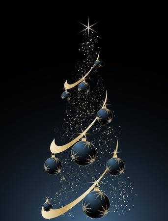 Abstract christmas theme for design