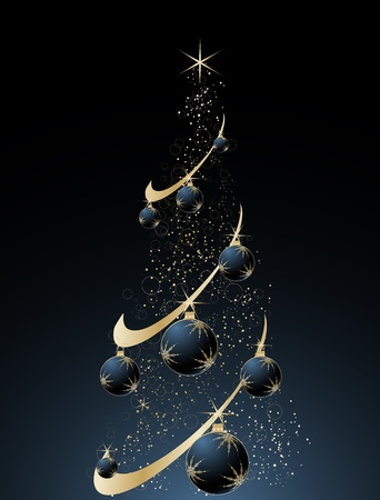 Abstract christmas theme for design