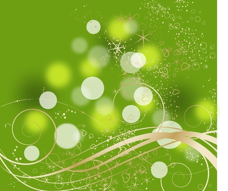Abstract flroal background. Suits well for design. Vector