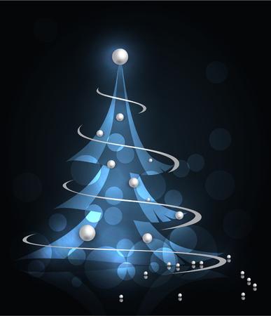 Tema abstracto de la Navidad Foto de archivo - 64750917