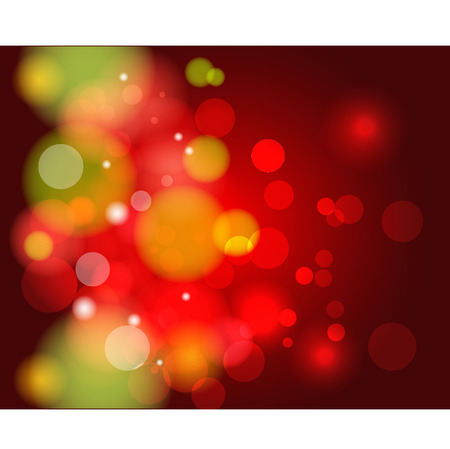 Abstract Christmas theme