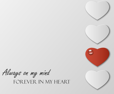 Abstract theme  for St.Valentine Day
