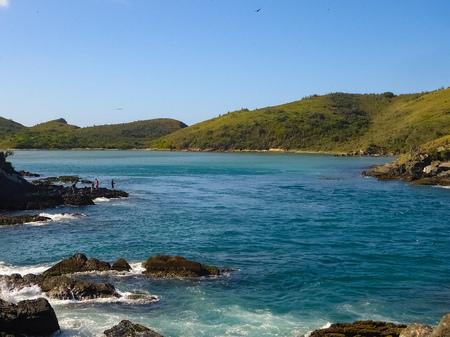 Beaches of Praia do Forte, Cabo Frio, Brazil Stock Photo
