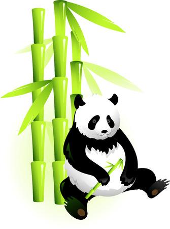 panda: Vectors panda