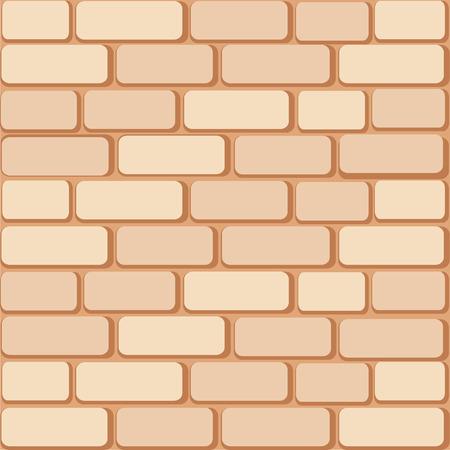Brick wall. 8 Vector