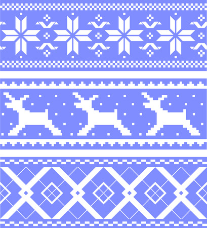 Ornaments set. You can easily change the color. Isolated. EPS 8 Vector