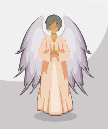eps 8: Vector Angel. EPS 8 Illustration