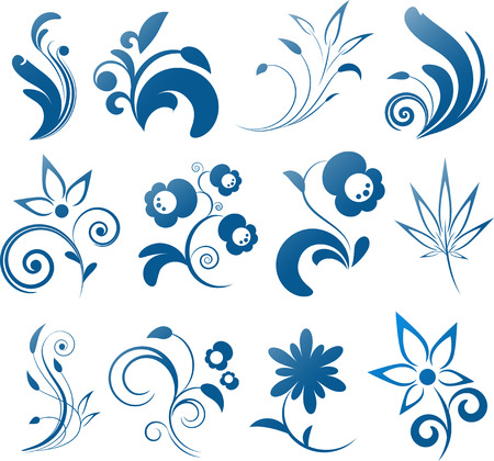 Collection of vector design elements. EPS 8 Stock Vector - 6725759