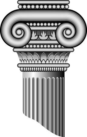 ancient roman: Ionic columns AI 8