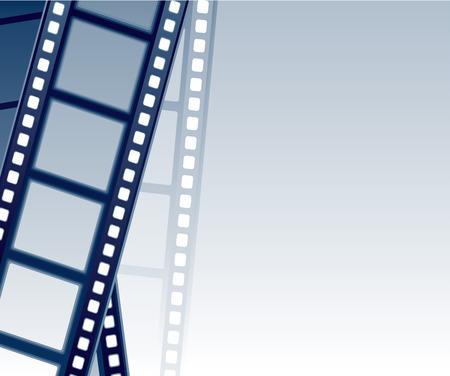 Filmstrip Background.   illustration Stock Vector - 7833125