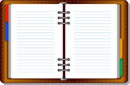 Notebook (organizer). EPS8 Stock Vector - 7938106