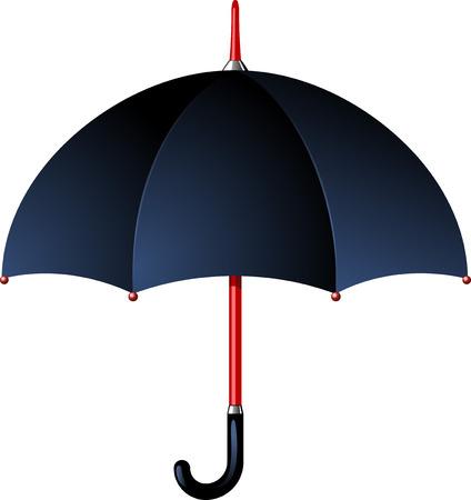 lluvia paraguas: Paraguas de la lluvia. EPS8  Vectores