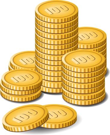 Money over white. EPS8 Stock Vector - 9298907