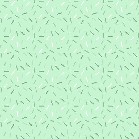 Light green jpeg seamless pattern with colored confetti.