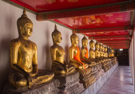 regards: Buddha statue WatPho at Thailand