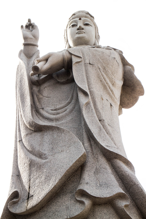 The Goddess of Compassion Mercy NO.02: It is the worlds favorite. Hard-suffering. The Goddess of Compassion and Mercy Quan Yin - Kuan Yin - is an incarnation of Mary, Sophia, and other feminine icons. Stock Photo