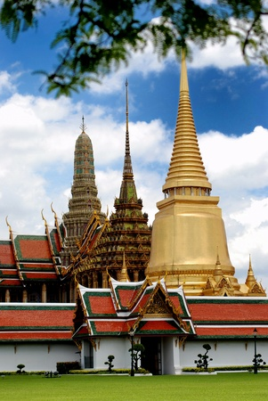 what phrakeaw, the temple in the grand palace area, bangkok, thailand