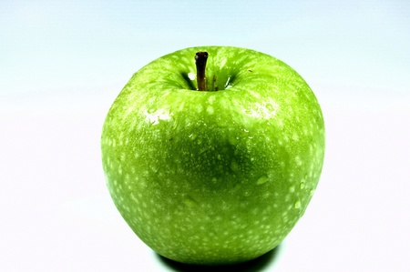 Apple green Fruit is a delicious, people all over the world.