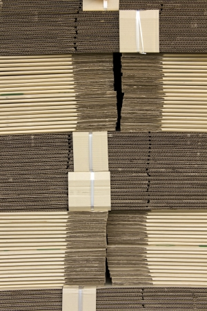 Folding carton Are contained in the paper industry  Stock Photo - 15068422