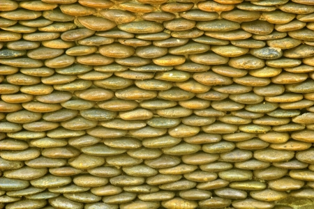 Small stone By a beautiful stone garden decor Stock Photo - 20067909