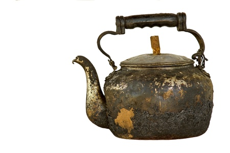 Traditional kettle in Thailand  Use boiled water for coffee  Tea and many more  Used regularly in household