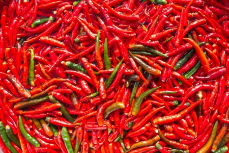 Pepper is a condiment used in Asian dishes  Stock Photo