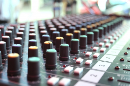 Mixing music and songs  The melodious sound is required Stock Photo - 21263957