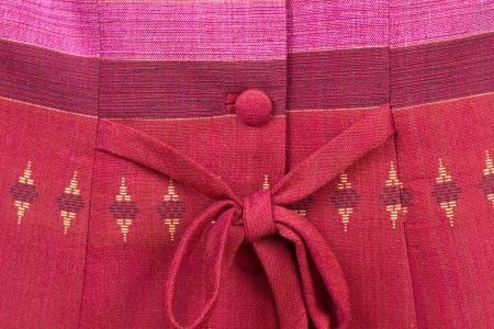 Thailand is made of hand-woven cotton fabric. Are most commonly used in the Northeast of Thailand. photo