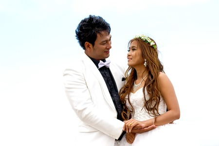 prewedding: In a conventional wedding photography before the wedding actually pre-wedding