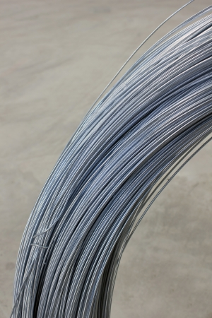 Steel tie wire used in construction of all kinds. Stock Photo - 24611226