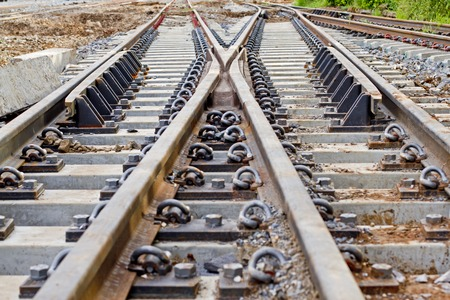 The railroad tracks and redirects