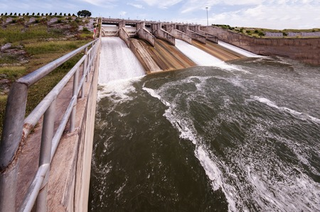 reservoirs: Dams or lakes, large reservoirs of water for agriculture and electricity