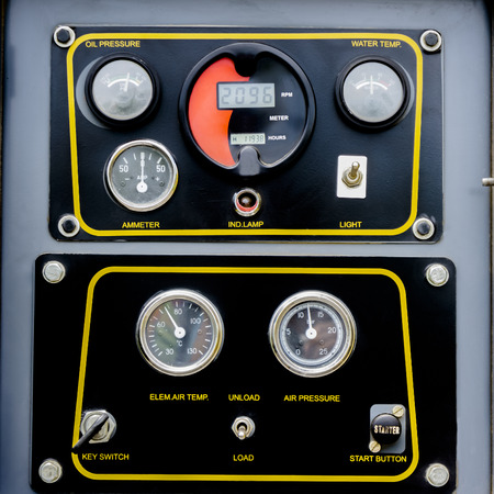 Control panel circuits engine modified to drill groundwater