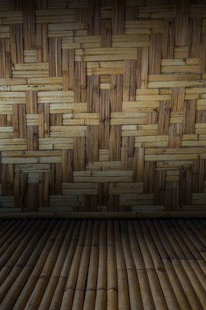 wooden partition: bamboo background