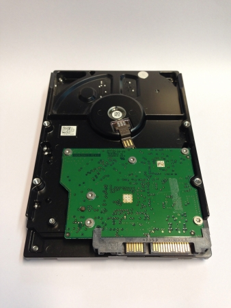 diskdrive: hard disk on white background