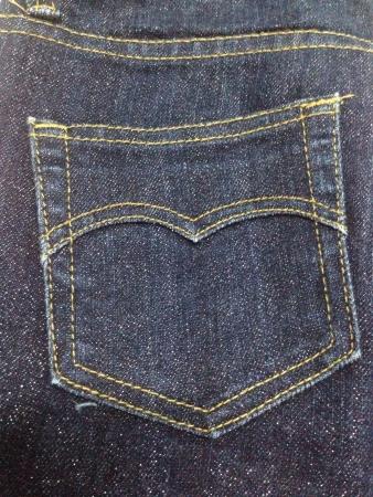 The pocket jean Stock Photo - 22280903