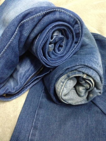 pants: Roll jeans  Stock Photo