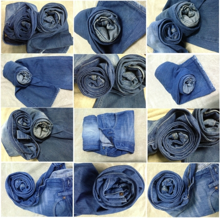 many Style Roll jeans photo